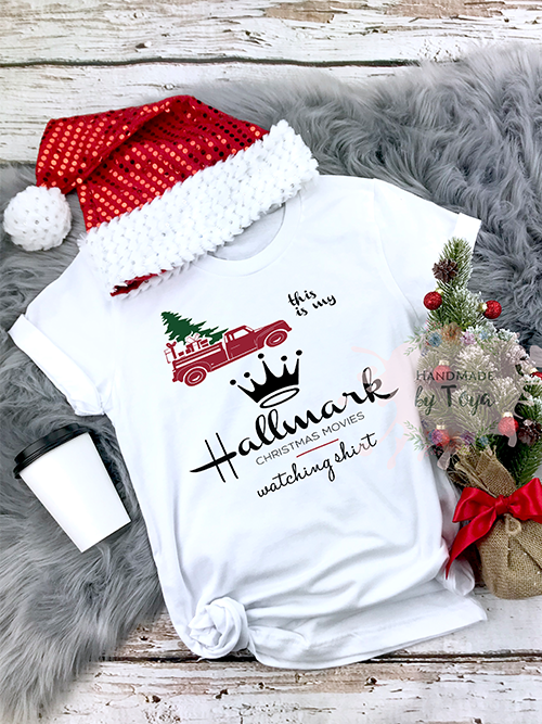 This Is My Hallmark Christmas Movie Watching Shirt Vintage Truck Svg Png Handmade By Toya